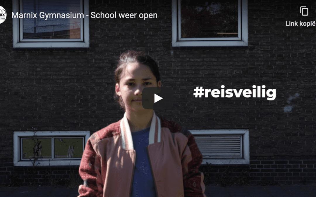 Marnix Gymnasium gaat weer open!