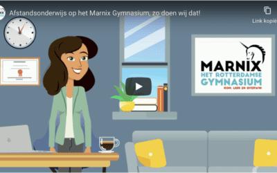 Afstandsonderwijs op het Marnix Gymnasium, zo doen wij dat!