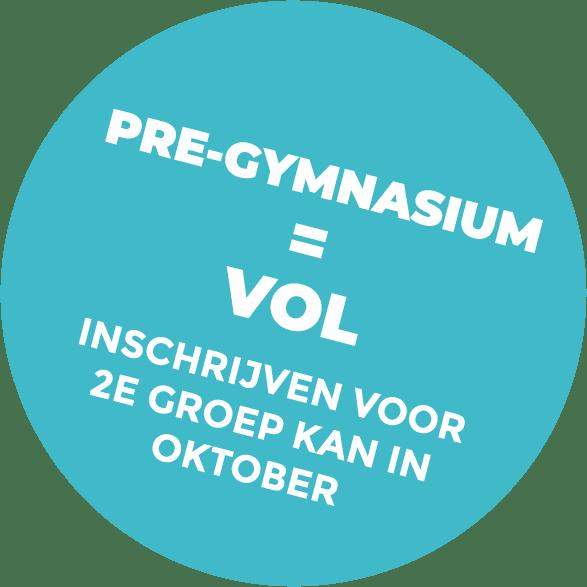 pre-gymnasium = vol
