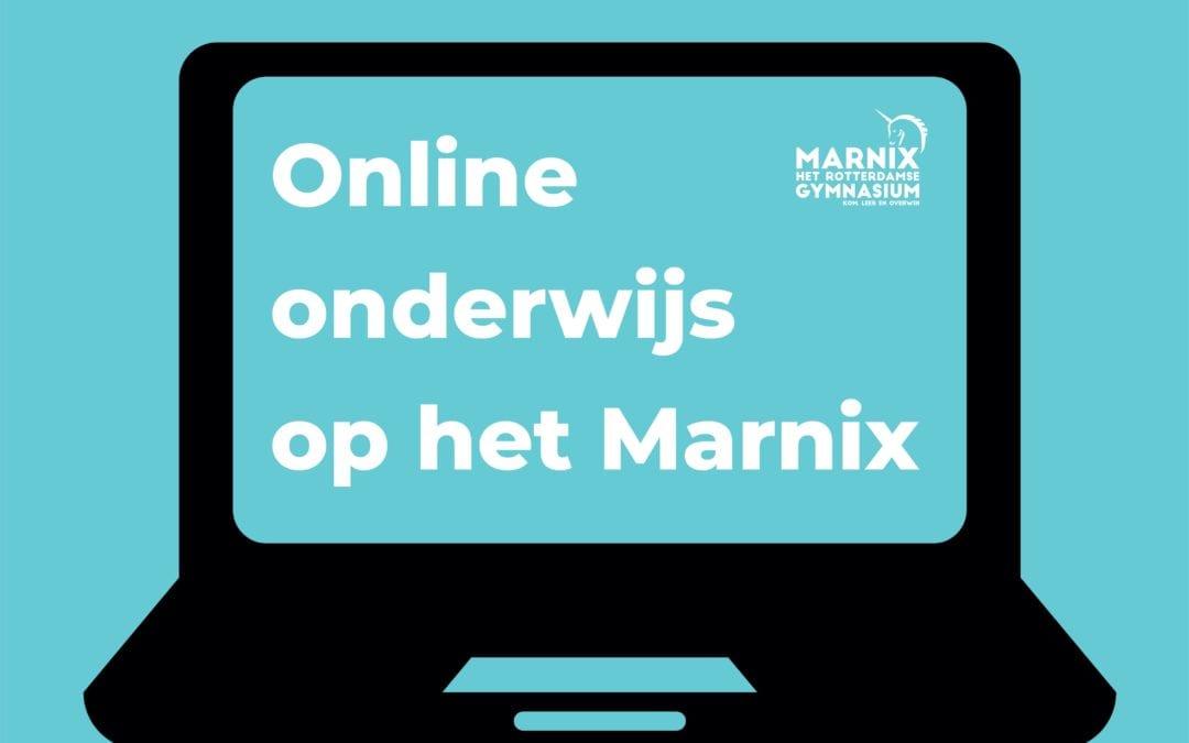 Online onderwijs op het Marnix