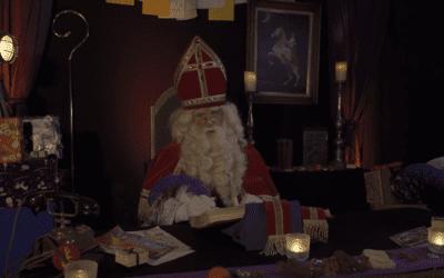 Een speciale videoboodschap van Sinterklaas!
